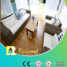 8.3mm E1 HDF Embossed Hickory V-Grooved Waterproof Laminate Floor