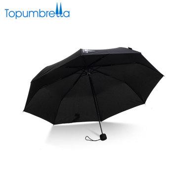 напечатанные таможней зонтики дождя маленькие рекламные в 3 раза мини-зонтик