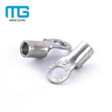 De Bonne Qualité Terminaux plaqués par étoupage de câble d'anneau plaqué par étain de cuivre non-isolé