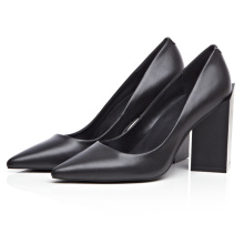 black patent leather wide fitting ladies office shoes