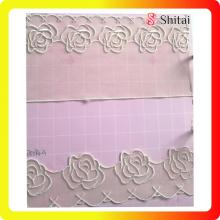 China supplier OEM for Net Lace Fabric Fashion flower embroidery tulle fabric supply to Spain Exporter