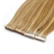 Professional Manufacturer Double Drawn Adhesive Invisible Skin Tape Brazilian Human Remy Extension European Virgin Hair