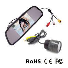 4.3 Inch Mirror Backup System Mirror Monitor System
