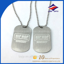China manufacturer paint corrosion technical dog tag