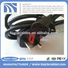 6Ft BS Notebook Laptop Power Cable Cord BS1363 to C5