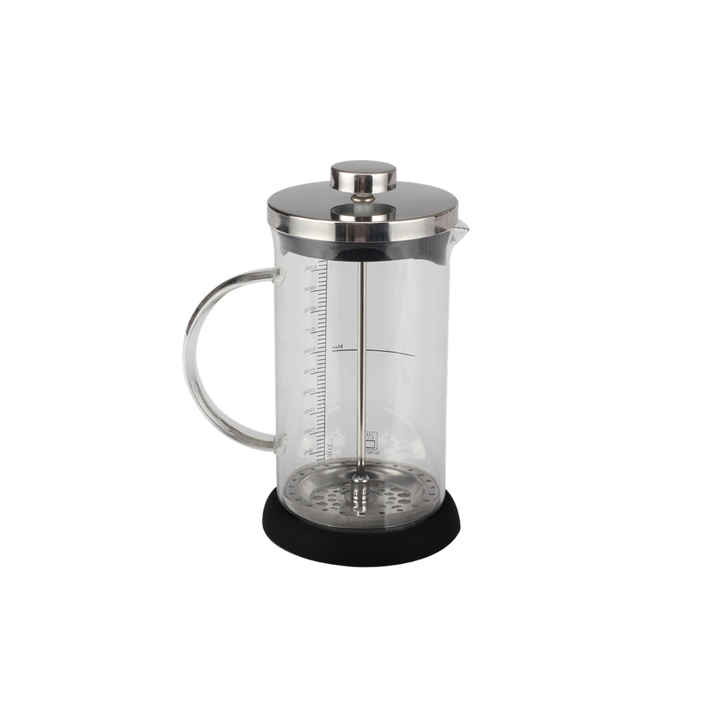 High Borosilicate Glass French Press With Non Slip Base