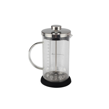 Glass French Press Kaffeemaschine 600ml Für Kaffee