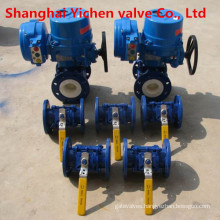 Electric Flange Ceramic Ball Valve