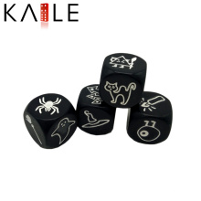 Factory Direct Supply 25mm Acrylic Logo Design for Dice