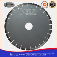400mm Hoja de sierra de diamante: Lámina de sierra silenciosa soldada con láser
