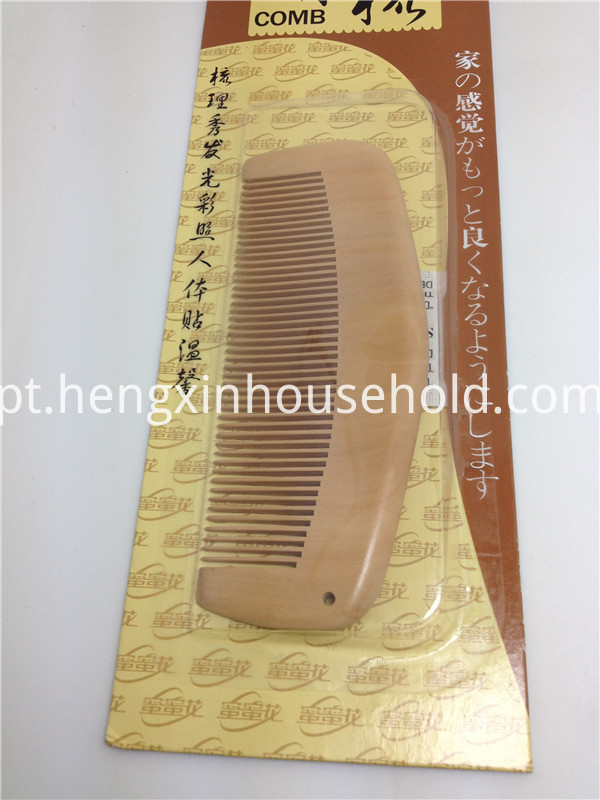 Health Wooden Comb