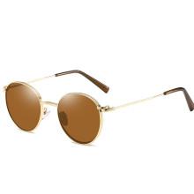 New Design CE high quality Trend metal round frame unisex classic sunglasses