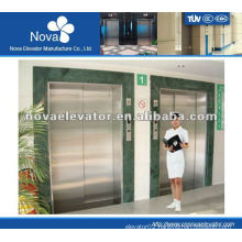 Hairline stainless steel elevator for patient, high speed