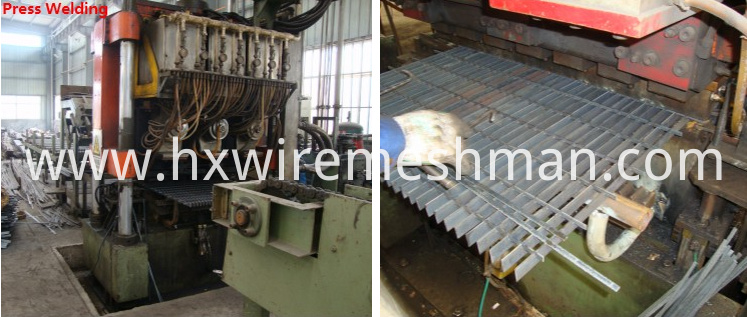 steel grating weld