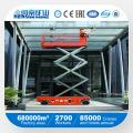 Automotriz / Plataforma elevadora de tijera hidráulica / Equipos de elevación