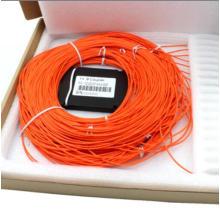 Acoplador PLC de fibra óptica 1 * 8 multimodo com cassete ABS