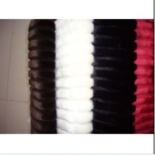 Factory Free sample for Tops Knitting Fur Top Knitting fabric faux fur export to Yemen Factory