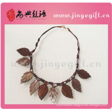 Imitation Handmade Cultural Eco-friend Leave Jewellery