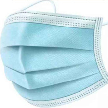 Mouth Nose Cover Respirator Protector Blue Face Mask