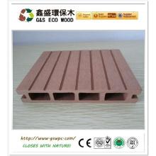 Compuesto plástico de madera anti-deformación de la alta calidad / cubierta wpc, cubierta barata / China