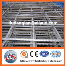 galvanized/black steel wire/rebar welded wire mesh panel,Reinforced welded mesh,heavy type welded mesh panel