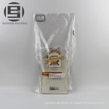 Sacs en plastique d'emballage de boulangerie de pain de ldpe de Vierge
