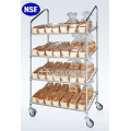 4 Tiers Bread Display Rack Shelving Manufacturer (CJ-A1205)