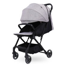 Carrinho de bebê para viagem com carrinho de bebê dobrável com uma mão