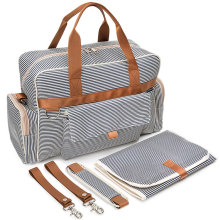 Canvas Messenger Effen Kleur Baby Love Luiertas