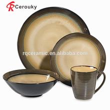 Venda quente western dinnerware sets