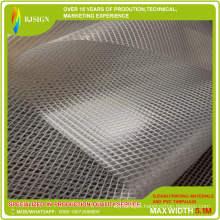Manufacturer of Transparent PVC Tarpaulin Mesh