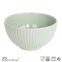 13.5cm en relieve Cereal Bowl estilo coreano