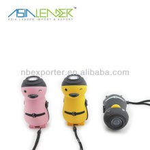 Panda shape one led dynamo torch