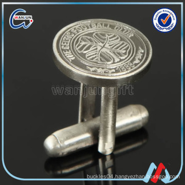 gold silver men alphabet cufflinks