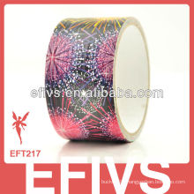 Popular fireworks print duct tape with excess inventory