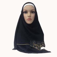 Bordado GGT hijab al por mayor de la bufanda