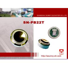 Kunststoff Lift Druckknopf (SN-PB22T)