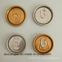 Beverage Can com 202 Sot Rpt Eoe Alumínio Lids