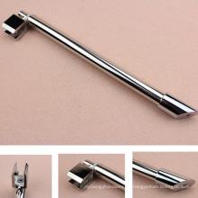 Conectores de la exhibición del ajuste del vidrio del tubo del acero inoxidable 304 con calidad durable