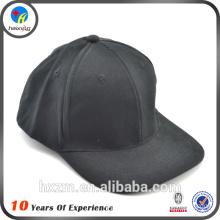 2016 custom plain black snapback hats