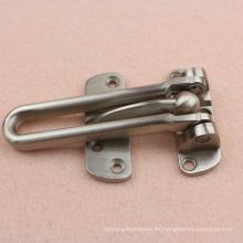 Cerradura de barra oscilante duradera de zinc para puerta de madera