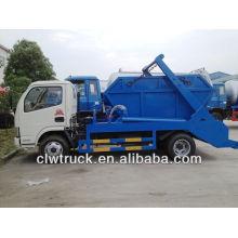 DFAC 4000L caminhão de lixo, pular caminhão de lixo