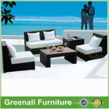 Outdoor Rattan Sofa Without Arm