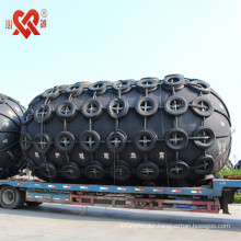 Marine Pneumatic rubber fender for dock and ship protection with long service life