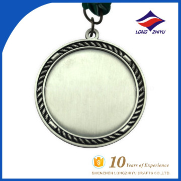 Custom tradition and make by China factory cheap blank medal