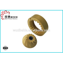 high quality cnc factory supply titanium alloy milling ,brass turning