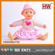 New Design 16 Inch Silicone Real Baby Alive Doll Toy for Sale
