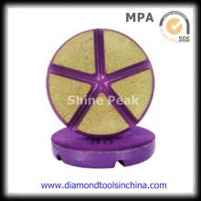 Almofadas de polimento de borda de diamante para granito de mármore de vidro