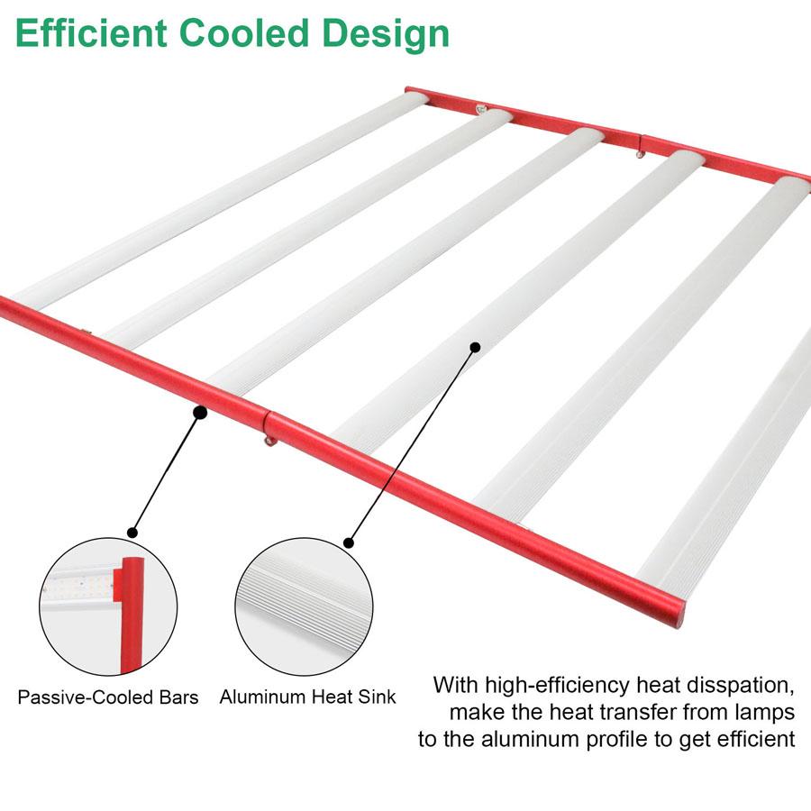 aluminum led grow lights