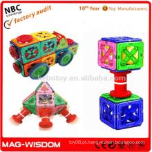 As crianças engraçadas brinquedo plástico magnético